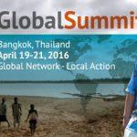 Cumbre Mundial de GNDR, Bangkok 2016