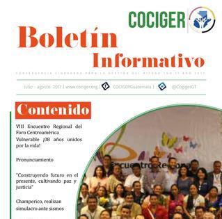 Boletín Informativo COCIGER no. 12